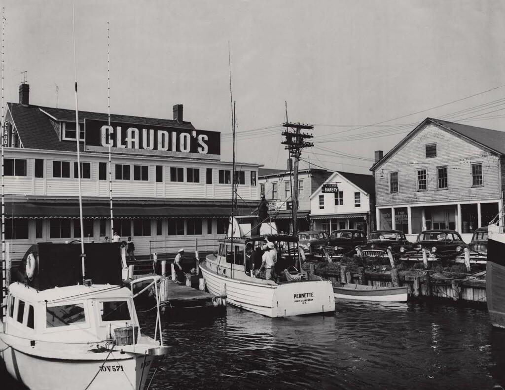 Vintage Photo of Claudio's Restaurant Exterior